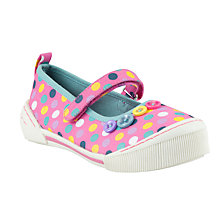 Buy John Lewis Daisy Dotty Mary Jane Shoes, Pink/Multi Online at johnlewis.com
