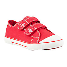 Buy John Lewis Double Rip-Tape Canvas Trainers Online at johnlewis.com