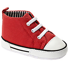 Buy John Lewis Baseball Boots, Red Online at johnlewis.com