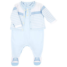 Buy Emile et Rose Edison 2 Piece Sleepsuit and Cardigan Online at johnlewis.com