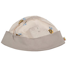Buy Frugi Buzzy Bee Hat, Cream Online at johnlewis.com