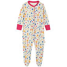 Buy Frugi Baby Lovely Duck Ditsy Babygrow, Multi Online at johnlewis.com