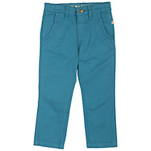 Buy Frugi Boys' Forester Chinos, Blue Online at johnlewis.com