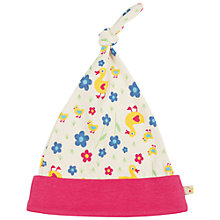 Buy Frugi Baby Lovely Duck Knot Hat, Multi Online at johnlewis.com