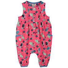 Buy Frugi Daisy Dog Dungarees, Pink Online at johnlewis.com
