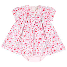 Buy Emile et Rose Baby Ena Floral Dress & Underwear Set, Pink Online at johnlewis.com