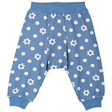 Buy Frugi Daisy Print Trousers, Blue Online at johnlewis.com