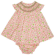 Buy Question Everything Baby's Ava Bird Dress, Pink Online at johnlewis.com