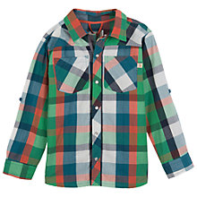 Buy Frugi Boys' Milo Check Shirt, Multi Online at johnlewis.com