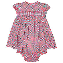 Buy Question Everything Baby's Jamie Lee Ditsy Dress, Pink Online at johnlewis.com