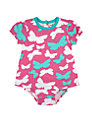 Hatley Baby Butterfly Bodysuit Dress, Pink