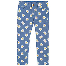 Buy Frugi Girls' Sennen Daisy Trousers, Blue Online at johnlewis.com