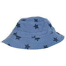Buy Frugi Baby Toby Star Sun Hat, Blue Online at johnlewis.com