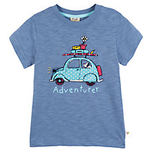 Buy Frugi Matilda Adventurer T-Shirt, Blue Online at johnlewis.com