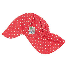Buy Frugi Baby Spotty Legionares Hat, Red Online at johnlewis.com