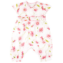 Buy Emile et Rose Baby Etta Flora Playsuit Online at johnlewis.com