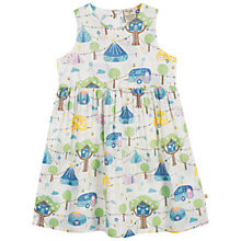 Buy Frugi Girls' Woodland Festival Dress, Cream Online at johnlewis.com