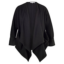 Buy Chesca Drape Pocket Jacket, Black Online at johnlewis.com