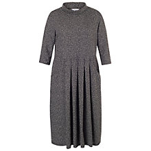 Buy Chesca Turtle Neck Tweed Dress, Black Online at johnlewis.com