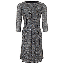 Buy Adrianna Papell Empire Fit And Flare Print Dress, Blue Online at johnlewis.com