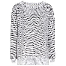 Buy Reiss Imogen Long Sleeve Jumper, Ecru Online at johnlewis.com