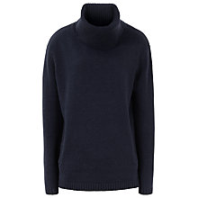 Buy Reiss Malin Zip Detail Roll-Neck Jumper Online at johnlewis.com