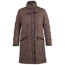 Buy Chesca Quilted Coat, Mink Online at johnlewis.com