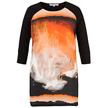 Buy Chesca Samba Print Tunic, Orange Online at johnlewis.com
