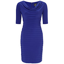 Buy Adrianna Papell Iris Asymmetric Tuck Dress, Iris Online at johnlewis.com
