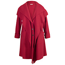 Buy Chesca Double Collar Coat, Red Online at johnlewis.com