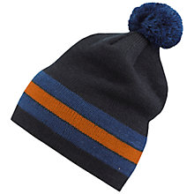 Buy Skogstad Boys' Sima Innvik Knit Beanie Hat, Navy Online at johnlewis.com