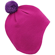 Buy Skogstad Girls' Lida Innvik Knit Beanie Hat, Pink Online at johnlewis.com