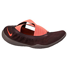 Buy Nike Studio Wrap Training Shoes, Deep Burgundy/Hyper Punch Online at johnlewis.com