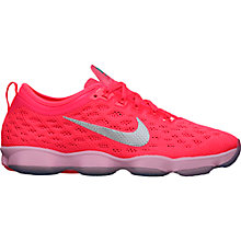 Buy Nike Zoom Fit Agility Cross Trainers, Pink Online at johnlewis.com