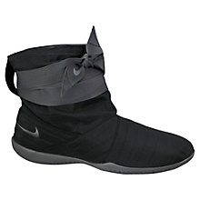 Buy Nike Studio Wrap Mid Pack Trainers, Black Online at johnlewis.com