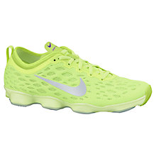 Buy Nike Zoom Fit Agility Cross Trainers, Yellow Online at johnlewis.com