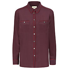 Buy Havren Piped Silk Shirt Online at johnlewis.com