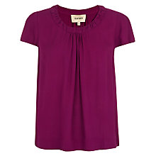 Buy Havren Pretty Pleated Blouse, Logan Berry Online at johnlewis.com
