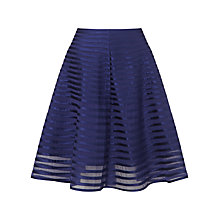 Buy Somerset by Alice Temperley Ribbon Mesh Skirt, Navy Online at johnlewis.com
