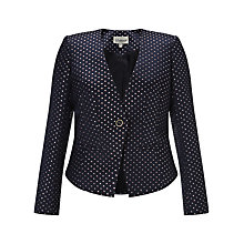 Buy Somerset by Alice Temperley Boat Print Blazer, Navy Online at johnlewis.com