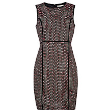 Buy Havren Tweed Contrast Seam Dress, Multi Online at johnlewis.com