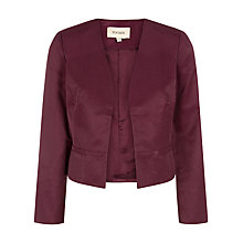 Buy Havren Aubergine Grosgrain Jacket, Aubergine Online at johnlewis.com