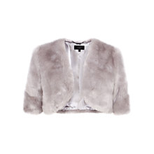 Buy Coast Bleeker Faux Fur Cover Up Online at johnlewis.com
