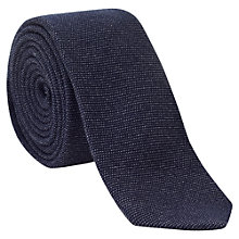 Buy Jigsaw Denim Wool Tie Online at johnlewis.com