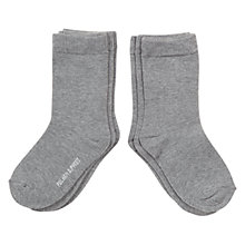 Buy Polarn O. Pyret Children's Classic Socks, Grey Online at johnlewis.com