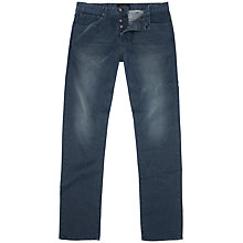 Buy Ted Baker Olney Straight Jeans, Mid Wash Online at johnlewis.com