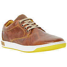 Buy Dune Buster Leather Shoes, Tan Online at johnlewis.com