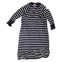 Buy Polarn O. Pyret Baby Stripe Sleeping Bag, Blue Online at johnlewis.com