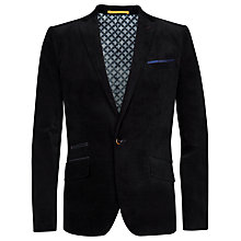 Buy Ted Baker Renly Velvet Blazer, Black Online at johnlewis.com