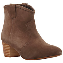 Buy Dune Purdy Suede Ankle Boots Online at johnlewis.com